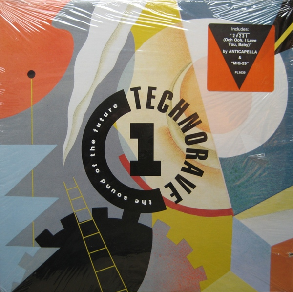 2в1 VA - Technorave 1: The Sound Of The Future 1992, VA - Technorave 2: Trance Atlantic... The Wave Of The Future 1992 R-258483-1188315993